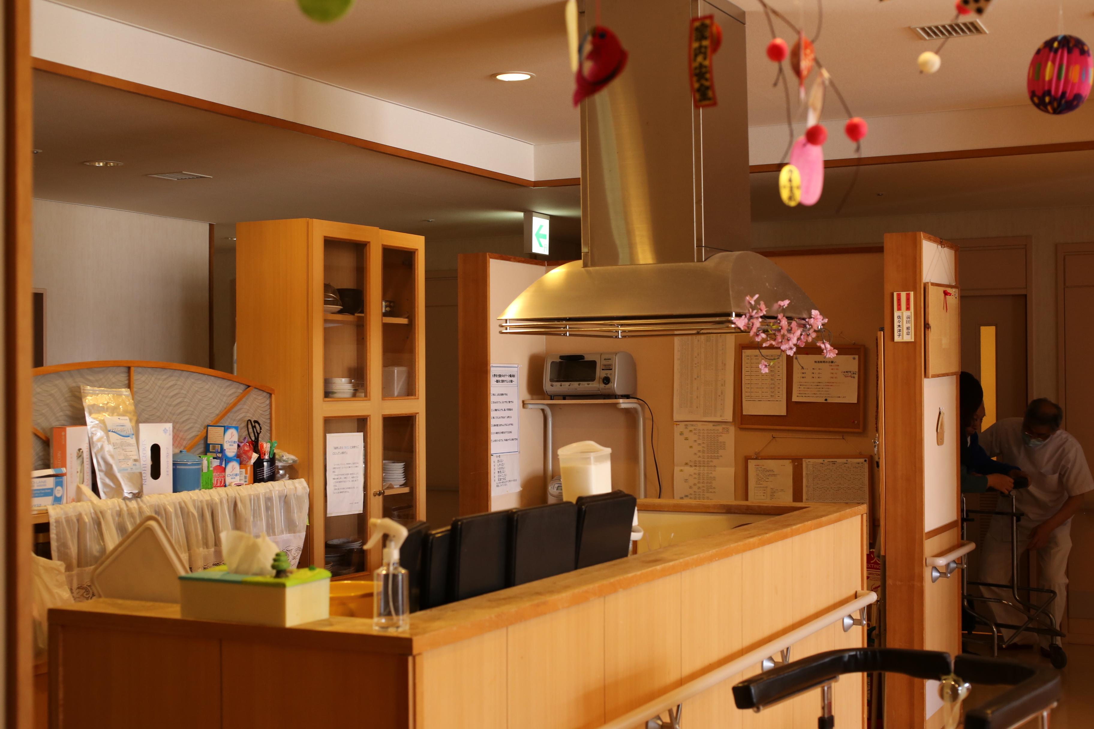 ユニット型のキッチン